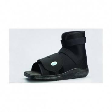 Darco International Slimline Cast Boot  Black Square-Toe  Adult Medium Part No.SLQ2B