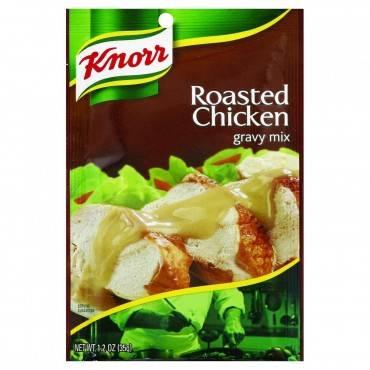 Knorr Gravy Mix - Roasted Chicken - 1.2 oz - Case of 12