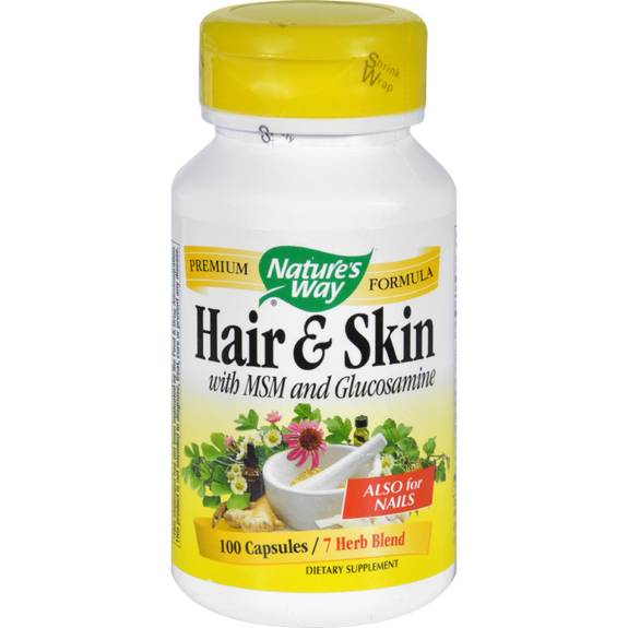 Nature S Way Hair Skin And Nails Ingredients