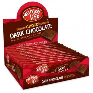Enjoy Life Chocolate Bar - Boom Choco Boom - Dark Chocolate - Dairy Free - 1.12 oz - Case of 24