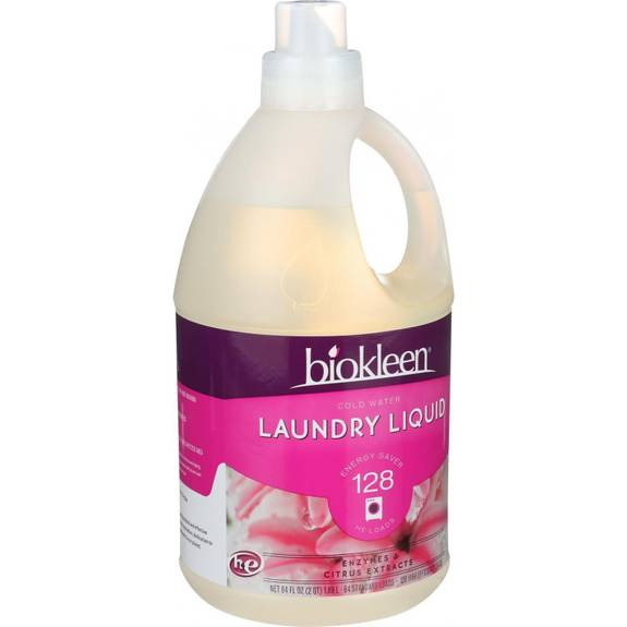 Biokleen Laundry Liquid Cold Water Formula 64 Oz