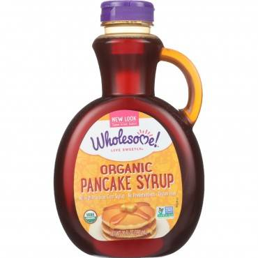 Wholesome Sweeteners Pancake Syrup - Organic - Original - 20 oz - case of 6