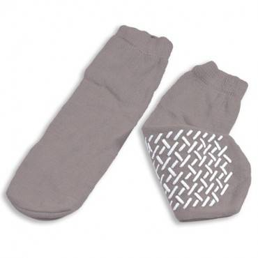 Medline Industries   Slipper Socks; XXL Grey Pair Men's 12-13 Part No.MDT211218XXLI
