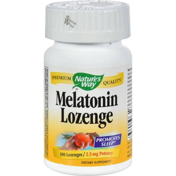 Nature S Way Melatonin Lozenge