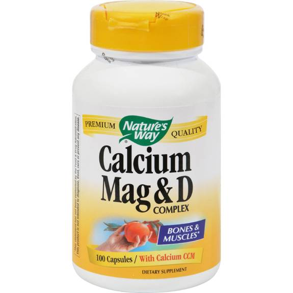 Nature S Way Calcium Mag D Complex