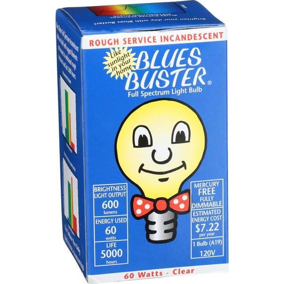 Blues Buster Light Bulb - Full Spectrum - Clear
