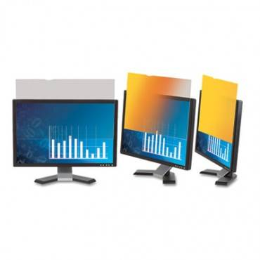 """Frameless Gold Lcd Privacy Filter For 19"""" Monitor"""