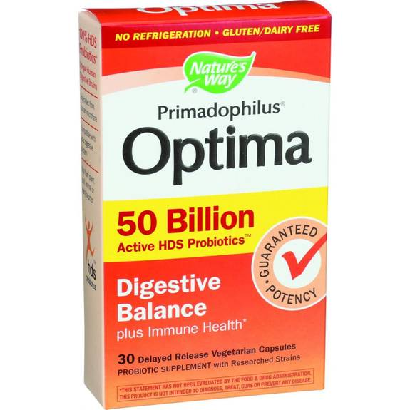 Nature S Way Primadophilus Optima Digestive Balance