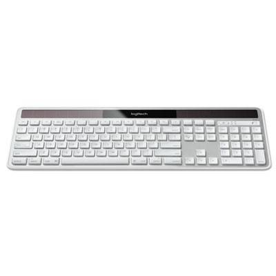logitech wireless solar keyboard for mac full size silver 920003472 1 each. Black Bedroom Furniture Sets. Home Design Ideas