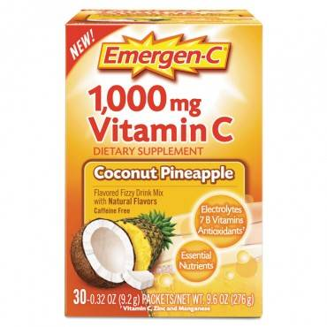Immune Defense Drink Mix, Coconut Pineapple, 0.32 Oz Packet, 30/box