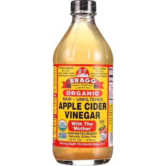 Raw unfiltered vinegar