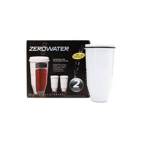 avanti zerowater replacement filtering bottle filter 2 pack zr017 2 package. Black Bedroom Furniture Sets. Home Design Ideas