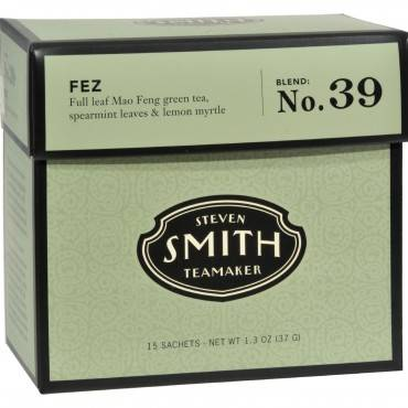 Smith Teamaker Green Tea - Fez - 15 Bags
