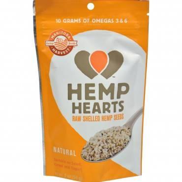 Manitoba Harvest Natural Hemp Hearts - 2 oz