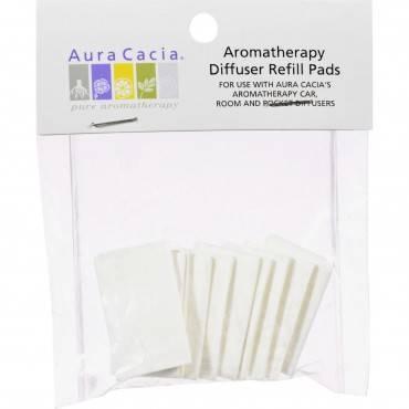 Aura Cacia Aromatherapy Diffuser Refill Pads - 10 Refills