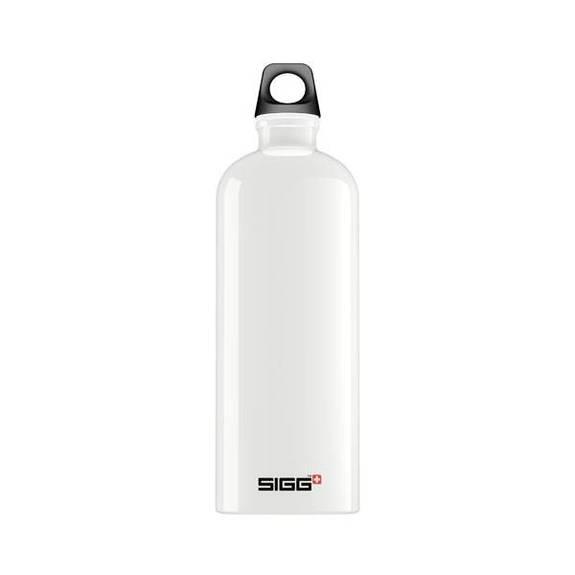 sigg water bottle traveller white 1 liter. Black Bedroom Furniture Sets. Home Design Ideas