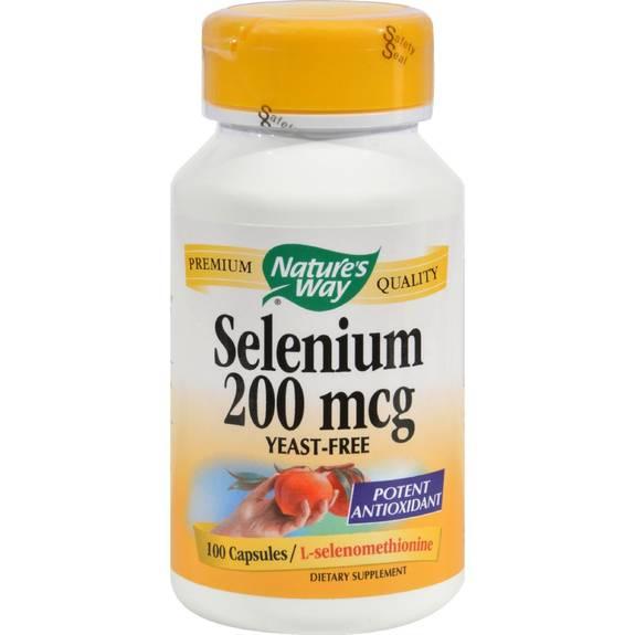Selenium capsules 200 mcg