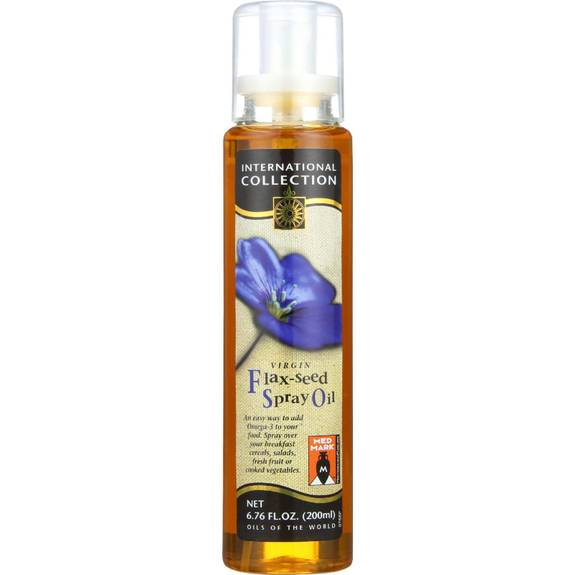 International collection spray oil flax seed oz for International collection