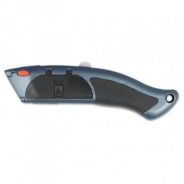 Auto-Load Razor Blade Utility Knife With Ten Blades