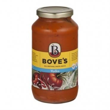 Bove's of Vermont Pasta Sauce - Vodka - Case of 6 - 24 Fl oz.
