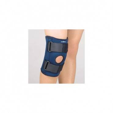 Safe-T-Sport Stabilizing Knee Support Navy Ped/Lg