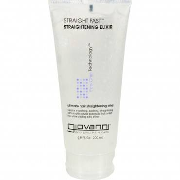 Giovanni Straight Fast Straightening Elixir - 6.8 fl oz