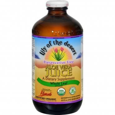 Lily of the Desert Organic Aloe Vera Juice Whole Leaf - 32 fl oz