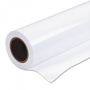 """Wide Format Glossy Photo Paper, 8.5 Mil, 36"""" X 100 Feet, Roll"""