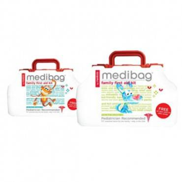 MediBag First Aid Bag for Kids 117 pieces Part No. 10012MD Qty 1