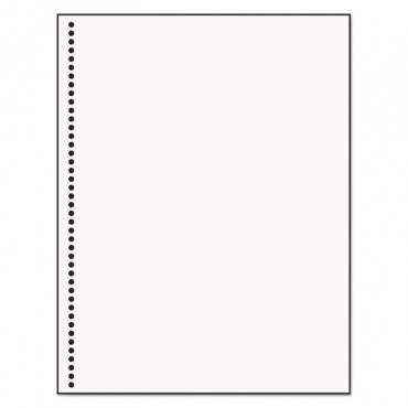Office Paper, Coil 43-Hole Punched, 8 1/2 X 11, 20-Lb, 500/ream