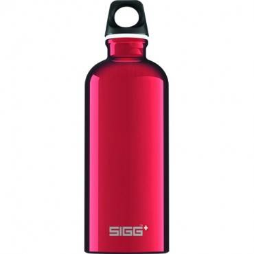 Sigg Water Bottle - Traveller - Red - .6 Liter