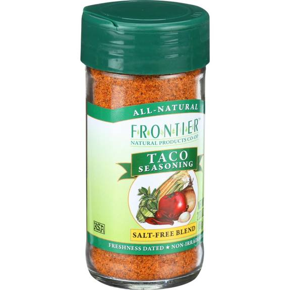 Frontier Herb Taco Seasoning Blend - 2.33 oz