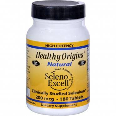 Healthy Origins Seleno Excell Selenium - 200 mcg - 180 Tablets
