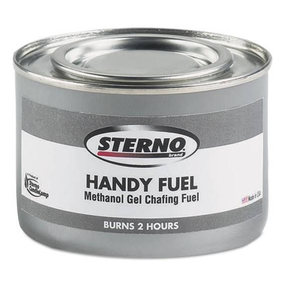 Handy Fuel Methanol Gel Chafing Fuel, 189.9g, Two-Hour Burn, 72/carton