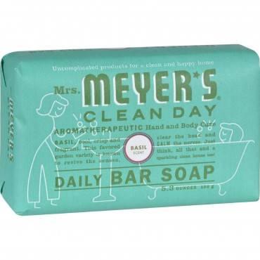 Mrs. Meyer's Bar Soap - Basil - 5.3 oz