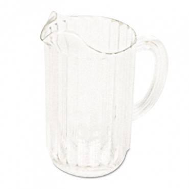 Bouncer Plastic Pitcher, 54 Oz, Clear, Polycarbonate