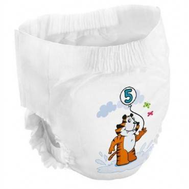 Youth Training Pants Bambo Nature Pull On Size 5 Disposable Heavy Absorbency Qty 20