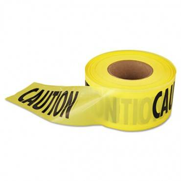 """1,000 Ft. X 3 In. """"caution"""" Barricade Tape (yellow)"""