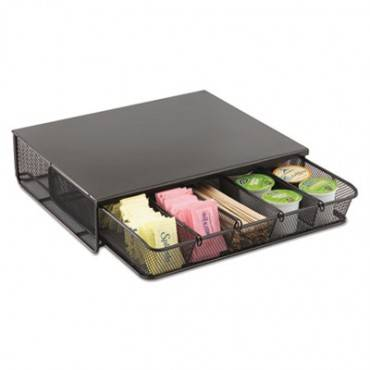 One Drawer Hospitality Organizer, 5 Compartments, 12 1/2 X 11 1/4 X 3 1/4, Bk