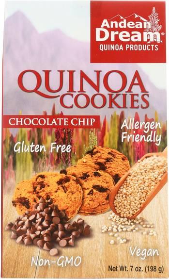 Gluten free quinoa chocolate chip cookies