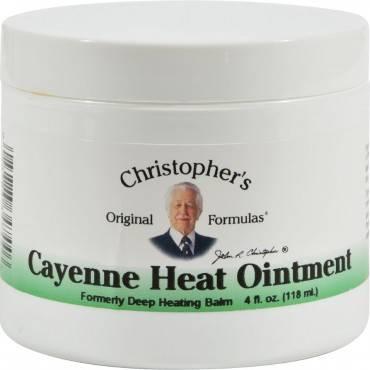 Dr. Christopher's Cayenne Heat Ointment - 4 fl oz