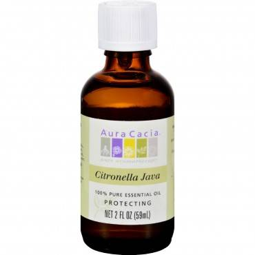 Aura Cacia Citronella Java Pure Essential Oil - 2 fl oz