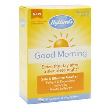 Hylands Homeopathic Good Morning - Case of 1 - 50 Tablets