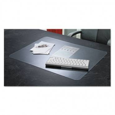 Krystalview Desk Pad With Microban, Matte Finish, 36 X 20, Clear