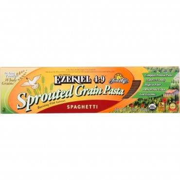 Food For Life Baking Co. Pasta - Organic - Ezekiel 4-9 - Sprouted Whole Grain - Spaghetti - 16 oz -