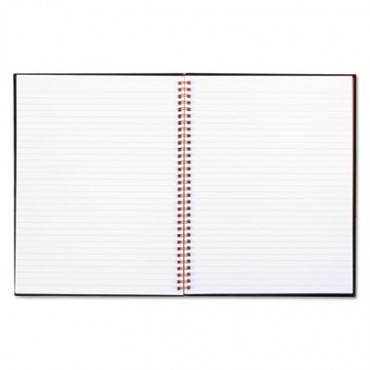 Twinwire Hardcover Notebook, Legal Rule, 11 X 8 1/2, White, 70 Sheets