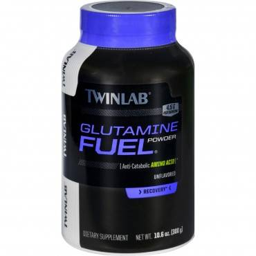 Twinlab Glutamine Fuel - Powder - Unflavored - 10.6 oz