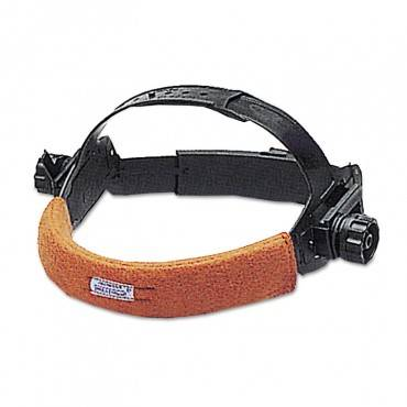 Sweatsopad Sweatband, For Non-Suspension Headgear, Fleece Cotton, Sienna, 2/pack