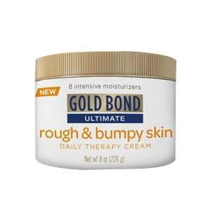 Gold bond rough bumpy skin therapy cream 8 oz part no 05075 qty 1 - Geldt bold ...