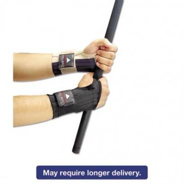 Dual-Flex Wrist Supports, Small, Nylon, Black